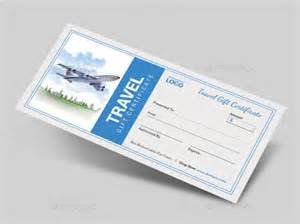 travel voucher gift certificate template travel gift certificate templates 7 free word pdf psd