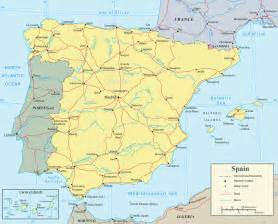 Map If Spain by Map Of Spain Rivers Map Spain