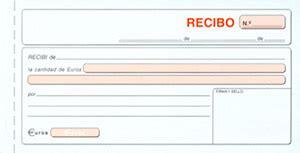 ejemplos de un recibo de dinero recibos modelos de recibos modelo factura