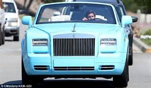 rolls royce phantom blue disick takes 492k baby blue rolls royce phantom