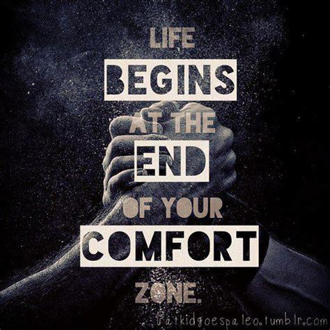 spiritual comfort zone life begins at the end of your comfort zone fitness