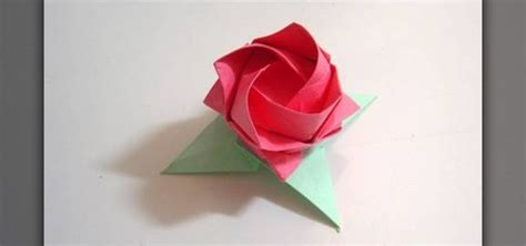 How To Make An Origami Kawasaki - how to make origami leaves for kawasaki roses 171 origami