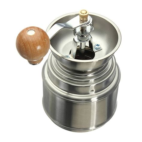 Ceramic Manual Handy Coffee Grinder stainless steel manual spice bean coffee burr grinder mill w ceramic dt ebay