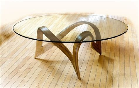 bronze and wood coffee table sculpture under glass original coffee tables by larry and