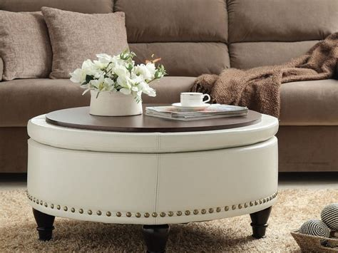large round cocktail ottoman large round cocktail ottoman home design ideas