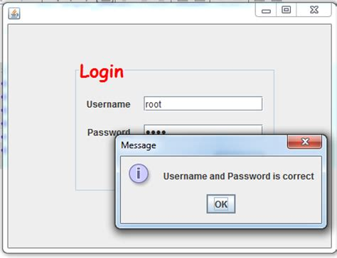 membuat form login di tengah java programming menggunakan netbeans membuat login form