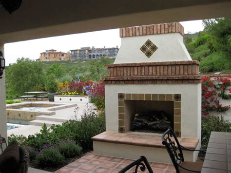 Prefabricated Outdoor Fireplace by Modular Outdoor Fireplaces Lite By Masonry