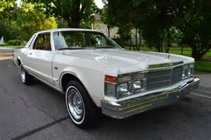1979 Chrysler Lebaron Gorgeous Survivor 50k Actual Mile 2 Owner 1979 Chrysler