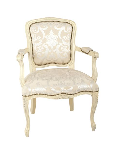 Luxury Armchair by Luxury Armchair Isolated On White Stock Image Image
