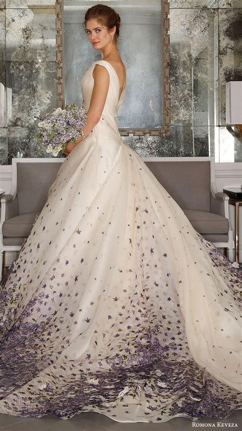 wedding dress with color romona keveza 2017 wedding dresses ode to