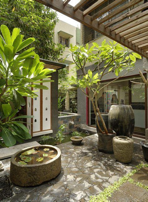 style house plans with interior courtyard vdga office pune by ar deepak guggari architecture projects offices and pune