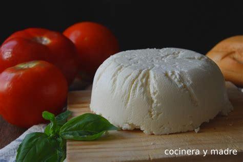quesos caseros sin lacteos queso fresco casero sin cuajo cocinera y madre