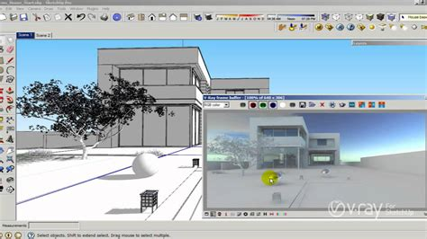 tutorial menggunakan vray sketchup 8 v ray for sketchup how to use hdri and sun settings