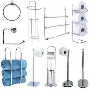 towel rail holder chrome toilet towel roll holder rail rack ring bathroom