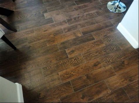 Faux Wood Flooring Faux Wood Tile Floors Flooring Faux Wood Tiles Tile And Grout