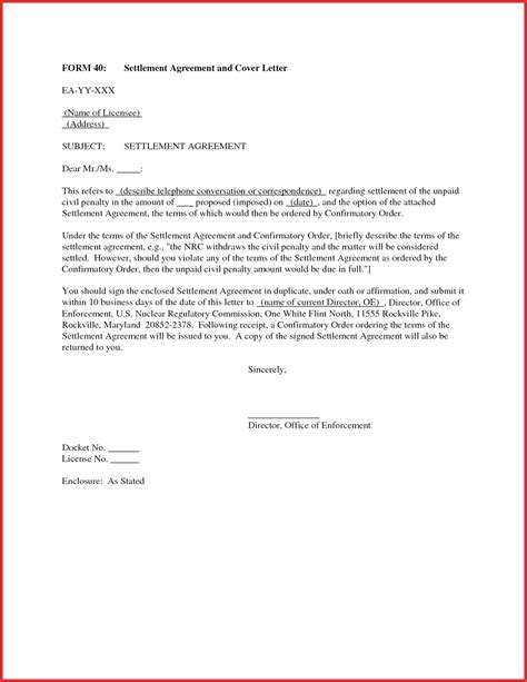 10 Letter Of Agreement unique letter of agreement resume pdf