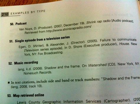 How To Reference A Podcast In An Essay by General Guidelines And Exles For Apa References And Apa Citation Style