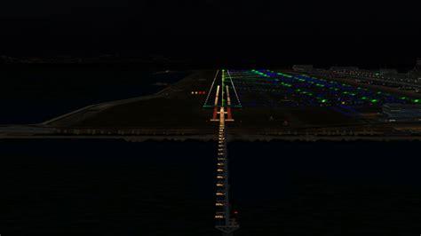 runway lights at night airport lights at night www imgkid com the image kid