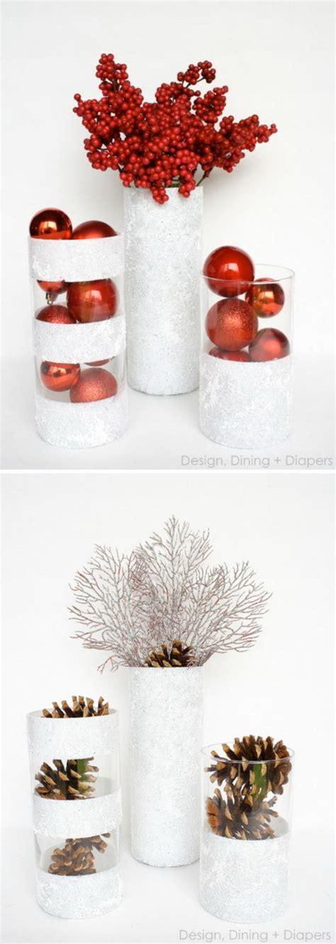 Vase Christmas Decorations 30 Dollar Store Christmas Ideas 2017