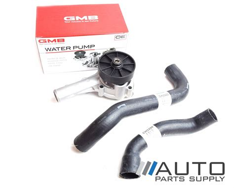 ford ba bf falcon water pump radiator hoses ltr cyl