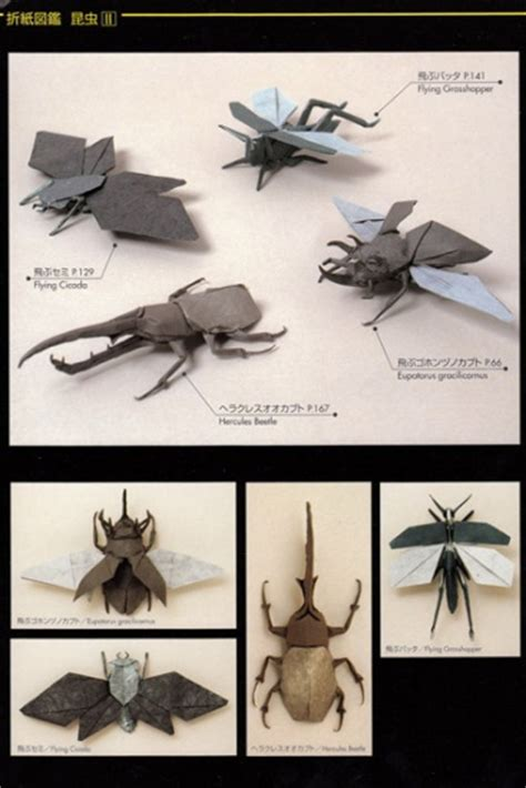 Origami Insects 2 - origami book insects 2 lang