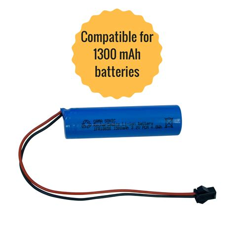 Gama Sonic Ifr18650 3 2v 1500mah Li Ion Battery Pack Solar Light Battery Replacement