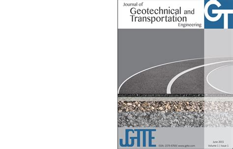 geotechnical modelling applied geotechnics books journal of geotechnical and transportation engineering
