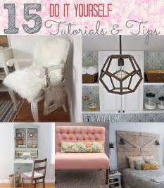 Do It Yourself by 15 Do It Yourself Project Tutorials And Tips Home