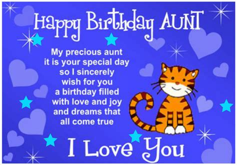 happy birthday aunt printable cards happy birthday aunt greetings and messages