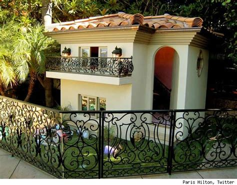 paris hilton dog house luxury photos and articles stylelist