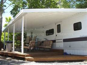 cer decks ideas rv cer awnings creative ideas