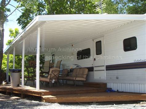 rv shade awning cer decks ideas rv cer awnings creative ideas