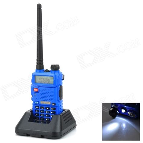 Lcd Uv5r 1 baofeng bf uv5r 1 5 quot lcd 5w dual band 128 ch walkie talkie compracinese