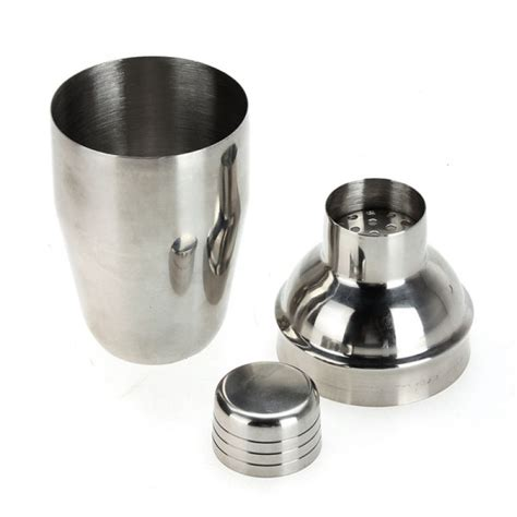 Cocktail Shaker 350ml Shuma buy 350ml stainless steel cocktail martini shaker drink mixer bazaargadgets