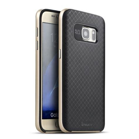 Ipaky For Samsung Galaxy S7 husa ipaky samsung galaxy s7 gold samsung galaxy s7