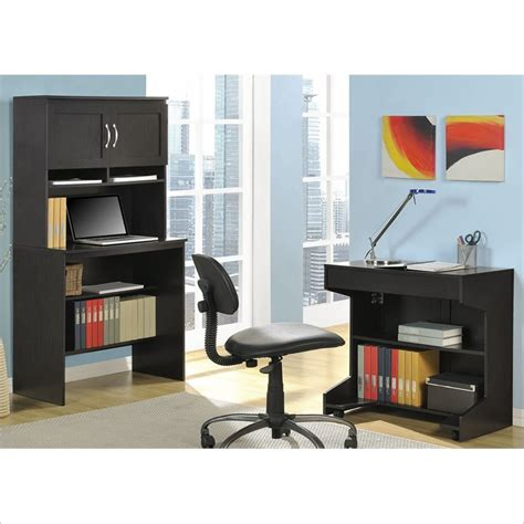 Office Armoires Furniture by Marlow Office Armoire In Espresso Finish 9364096