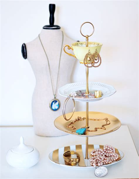 how to make a jewelry stand 15 diy jewelry holders