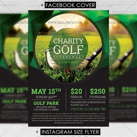Golf Tournament Flyer Template Incheonfair Golf Tournament Flyer Template