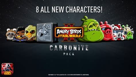 angry birds star wars 2 update angry birds star wars ii updated with caarbonite pack for