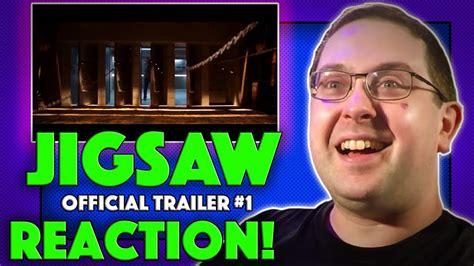 jigsaw film trailer deutsch reaction jigsaw trailer 1 tobin bell saw part 8 movie