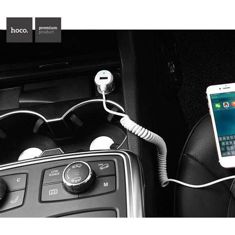 Charger Mobil Hoco Ucm01 2 In 1 Micro Usb Car Charger For Smartphone hoco usb charger mobil 1 port dengan kabel lightning 3 4a z14 black jakartanotebook