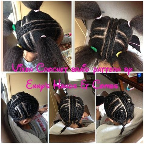 vixen braidinf pattern vixen crochet weave sew in braid pattern by enny on
