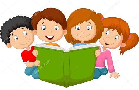 leer libro de texto danger girl en linea ni 241 os de dibujos animados leyendo libro archivo im 225 genes vectoriales 169 tigatelu 63519645