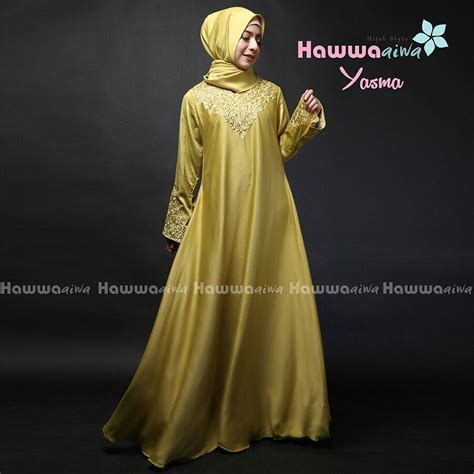 Yasma Dress gaya muslim modern baju muslim terbaru yasma dress by