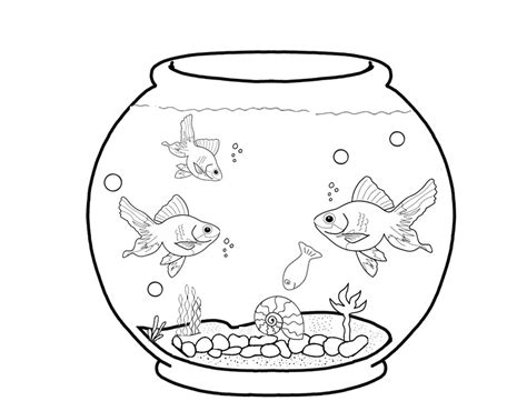 coloring pages fish aquarium gallery with coloring page fish