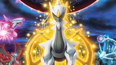 arceus and the of arceus appears in the pok 233 mon 20th anniversary event