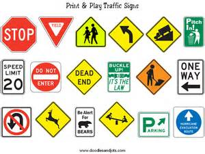 road sign colors engaging students classifying polygons green math