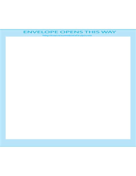 booklet envelope template booklet envelopes 5 3 4 x 8 7 8 front free