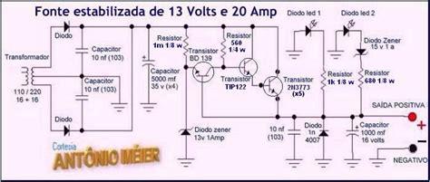 Trafo 10a O 6v 30v fonte estabilizada de 13 volts antonio m 233 ier am rj