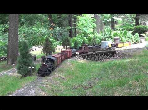 g scale garden railroad open house day